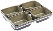 Mackies FHS/4 set of 4 deep drawn Farmhouse Loaf pans